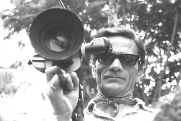 Il volto di Pasolini riflesso in una vetrina,incipitdiAppunti per un'Orestiade africana(1970)