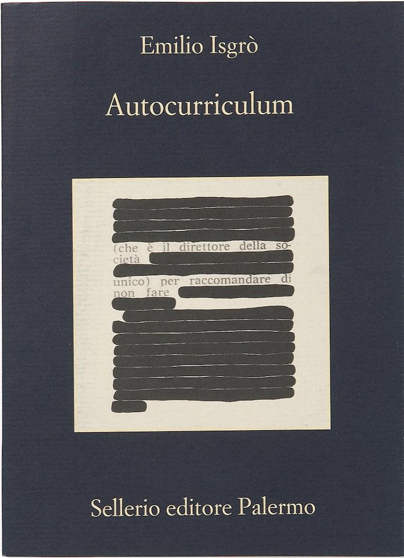 Emilio Isgrò, Autocurriculum, 2017