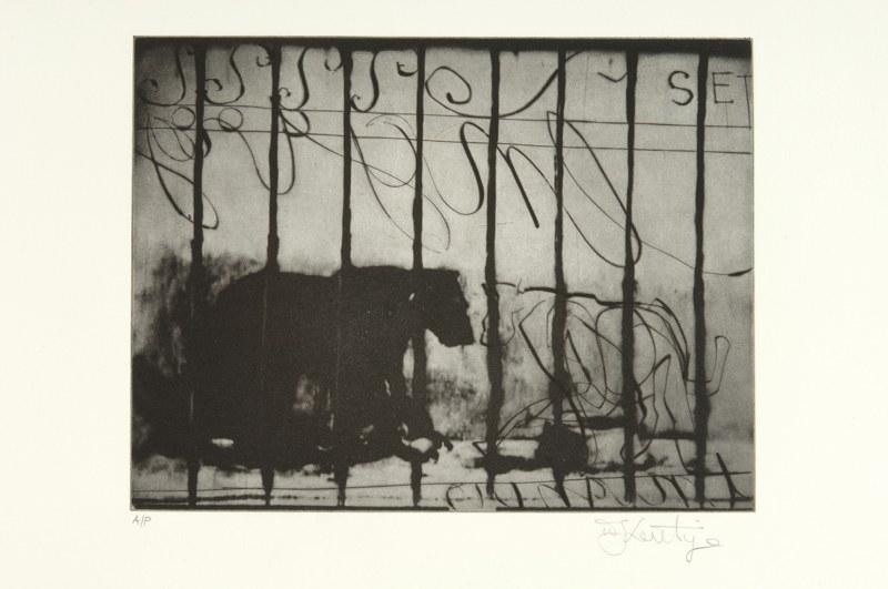 Fotogramma di Zeno Writing di William Kentridge