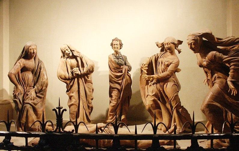 Niccolò dell'Arca, Compianto sul Cristo morto, 1463-1490
