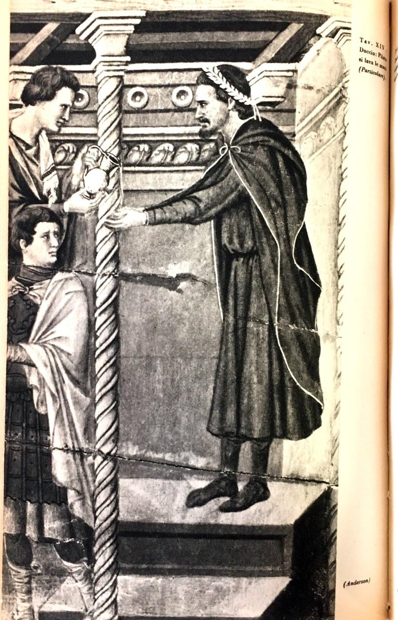 Fig. 2 Duccio di Buoninsegna, Maestà del Duomo di Siena (particolare), 1308-1311, Museo dell'Opera Metropolitana del Duomo, Siena