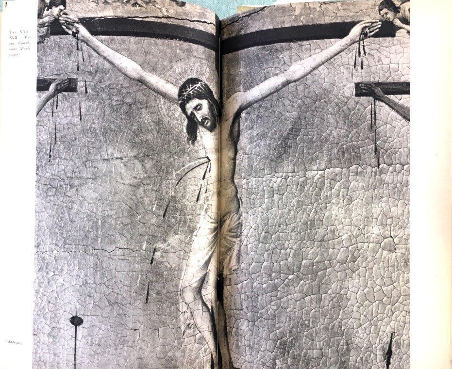 Fig. 4 Duccio di Buoninsegna, Maestà del Duomo di Siena (particolare), 1308-1311, Museo dell'Opera Metropolitana del Duomo, Siena