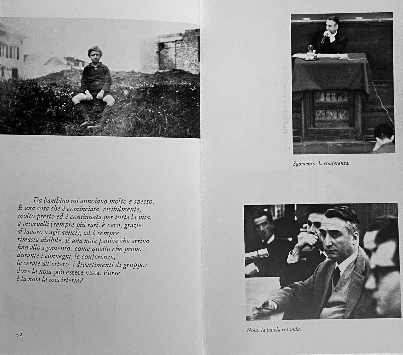 Due pagine di Roland Barthes par Roland Barthes, trad. it. di G. Celati, 2007