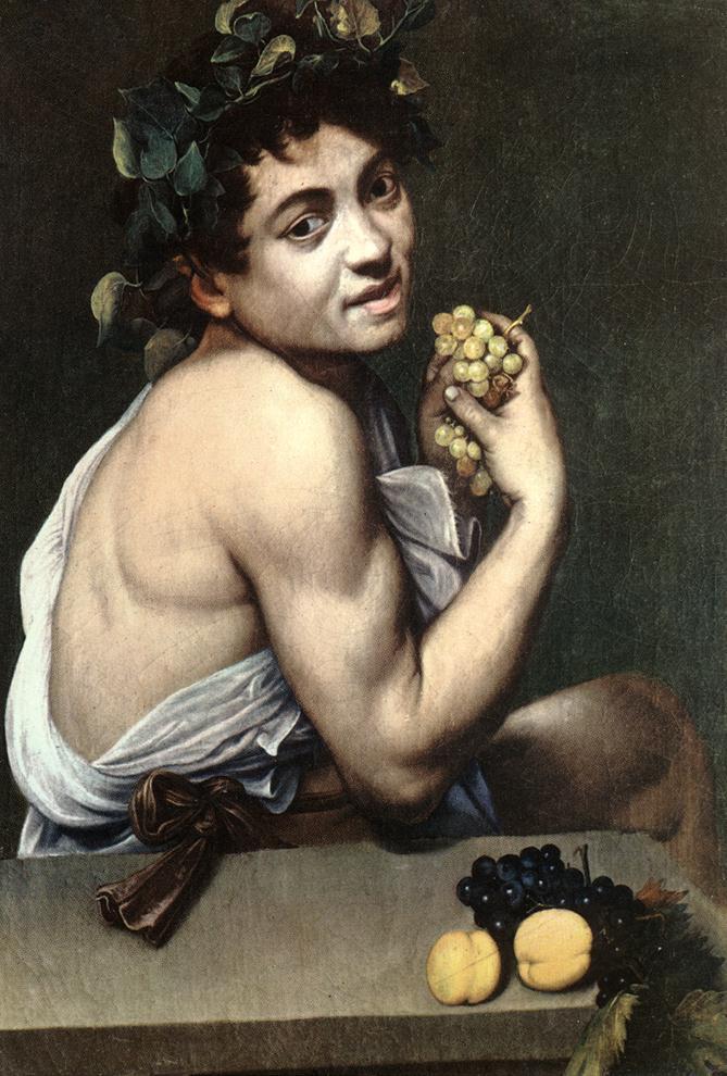 Caravaggio, Bacchino malato, 1594