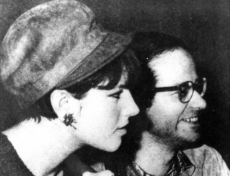 Stefania Sandrelli e Gino Paoli negli anni Sessanta