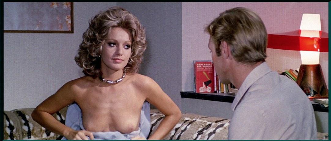 Catherine Spaak in Il gatto a nove code di Dario Argento, 1971