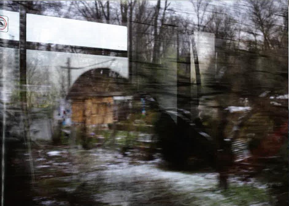 Photographie de Denis Cointe dans Marie NDiaye, Y penser sans cesse, Editions de l'Arbre vengeur, 2011