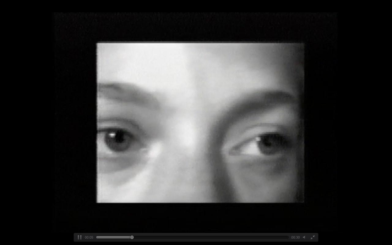 Sadie Benning, If Everey Girl Has a Diary, 1990. Capture d'écran, vidéo en ligne: https://www.vdb.org/titles/if-every-girl-had-diary