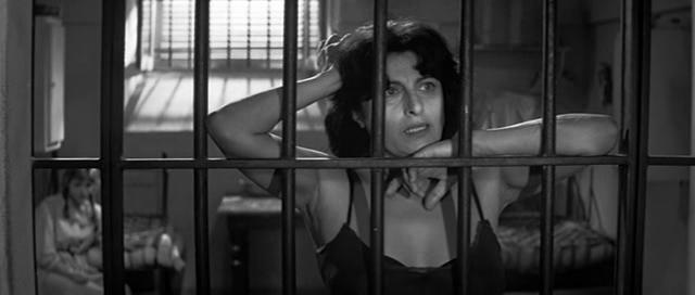 Anna Magnani in Nella città l'inferno di Renato Castellani, 1959