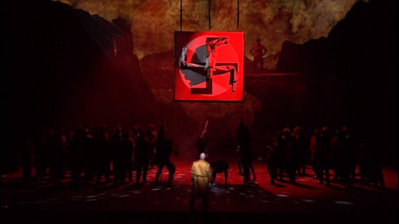 La crocifissione di Faust a una svastica, IV parte