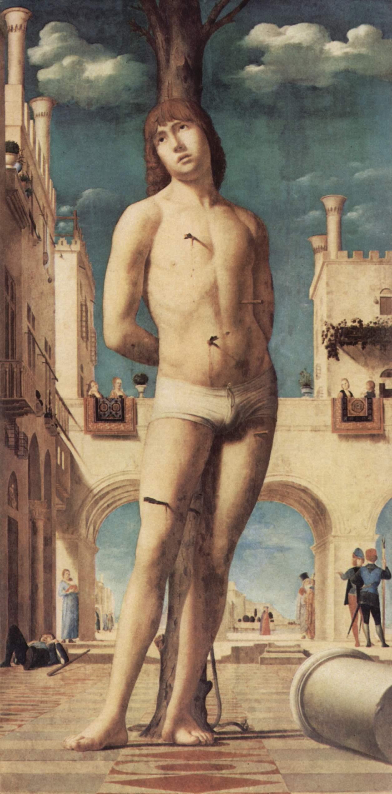 Antonello da Messina, San Sebastiano, olio su tela, (1478 c.)