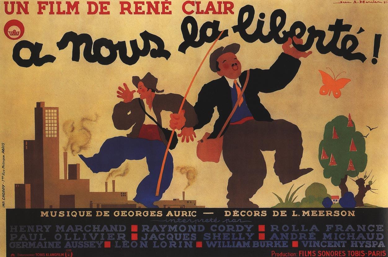 Fig. 2 A nous la liberté di René Clair (Francia, 1931)