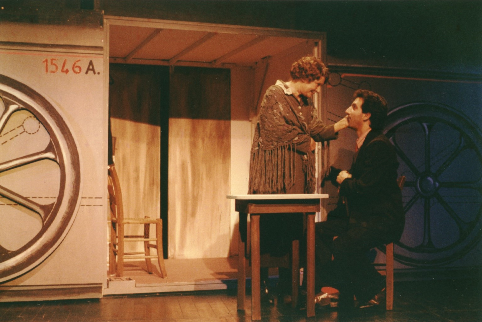 Fig. 3 Conversazione in Sicilia, regia di Gianni Salvo (1989)