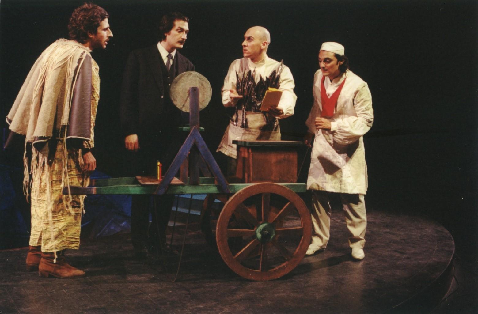 Fig. 4 Conversazione in Sicilia, regia di Gianni Salvo (2001)