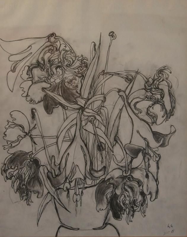 Giovanni Testori, Fiori appassiti, 1965