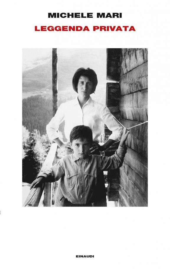 «Iela e Michele fotografati da Enzo Mari, 1962», sulla copertina di Leggenda privata, Torino, Einaudi, 2017