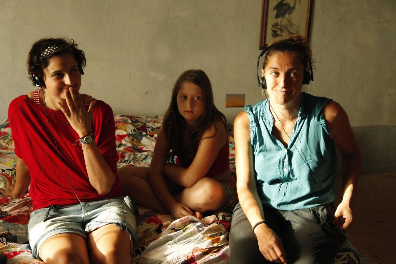Immagine dal set de Le meraviglie di A. Rohrwacher, 2014 – fotodi Simona Pampallona