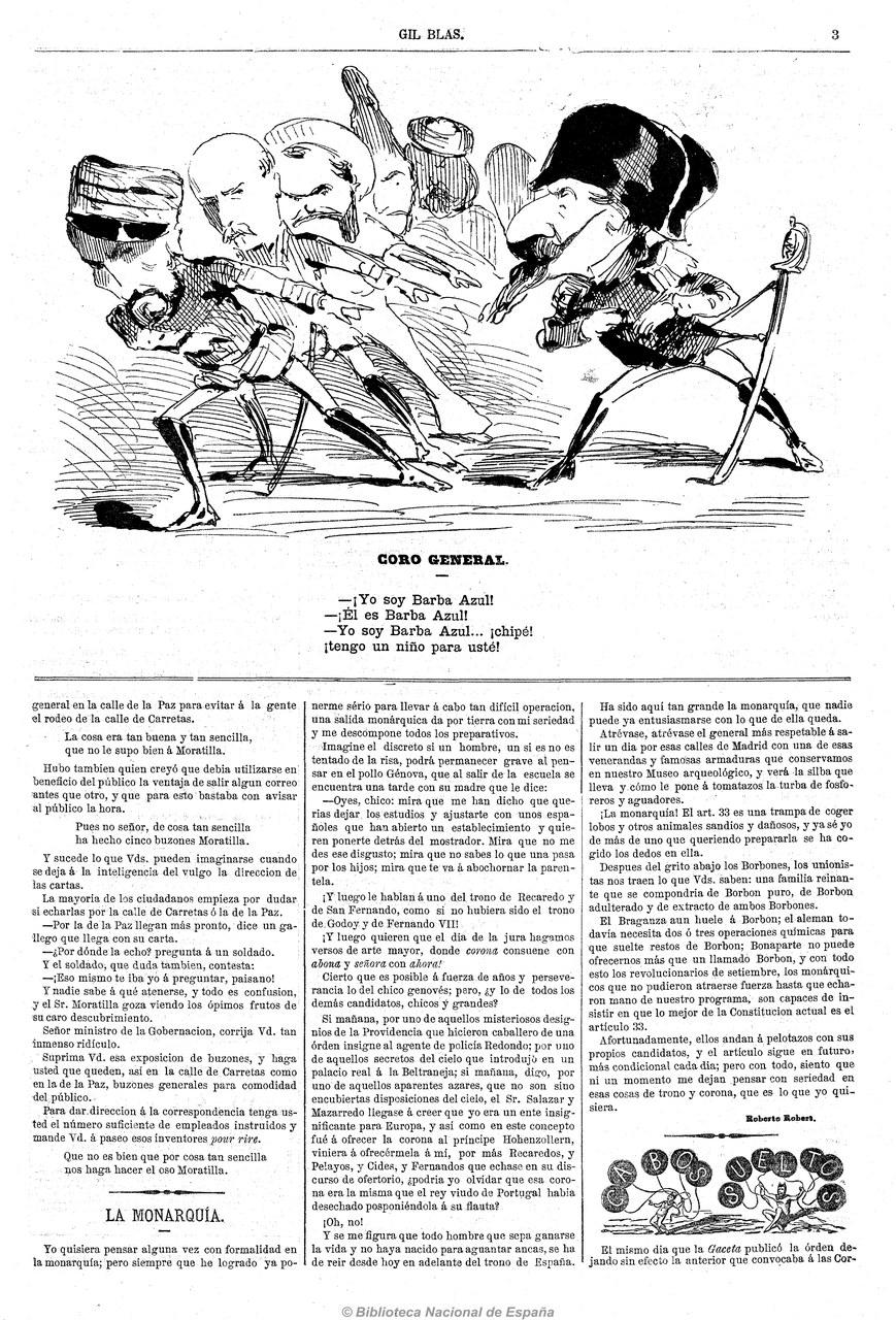 Fig. 3Gil Blas, 17 de julio de 1870.