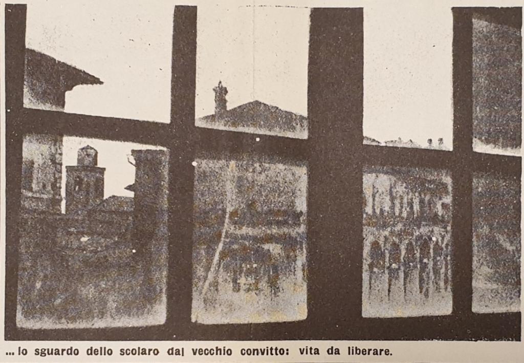 Fig. 2 L. Crocenzi, 'Italia senza tempo', Il Politecnico, 28, 6 aprile 1946, p. 3 (particolare)