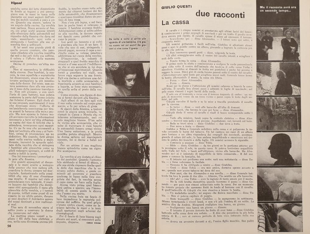 Fig. 6 L. Crocenzi, 'Andiamo in processione', Il Politecnico, 35, gennaio-marzo 1947, pp. 56-57