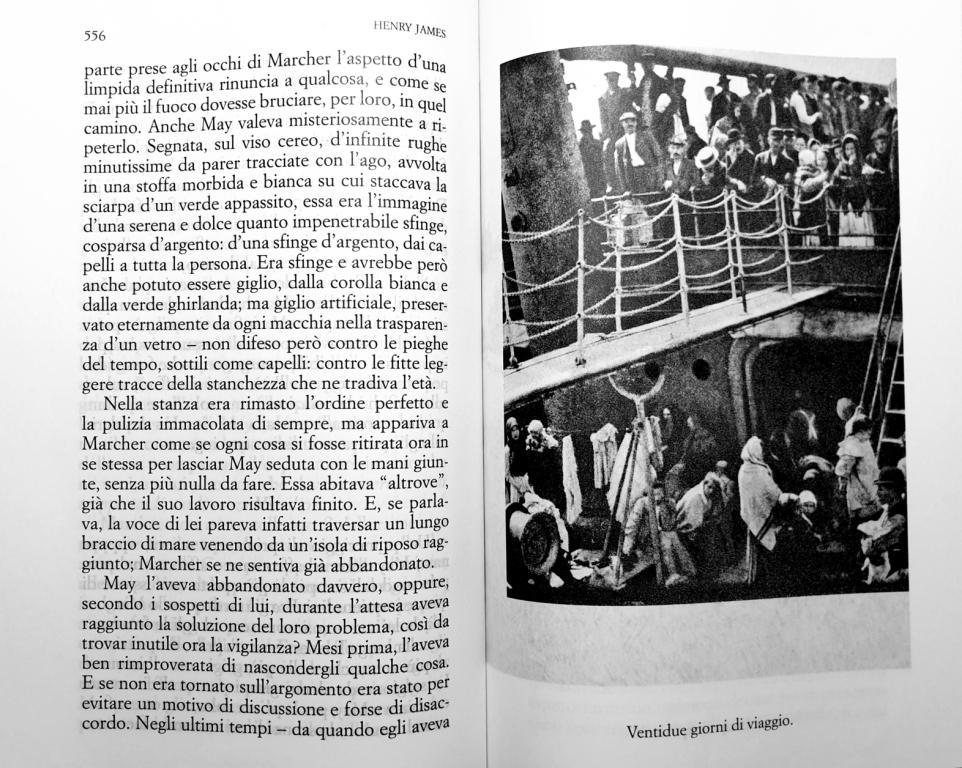 Fig. 2 Elio Vittorini (a cura di), Americana [1942], 2015 (fotografia di Alfred Stieglitz The Steerage, 1907)