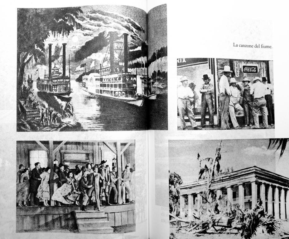 Fig. 4 Elio Vittorini (a cura di), Americana [1942], 2015 (in basso a destra, fotografia di Walker Evans Lousiana Plantation House, 1935)