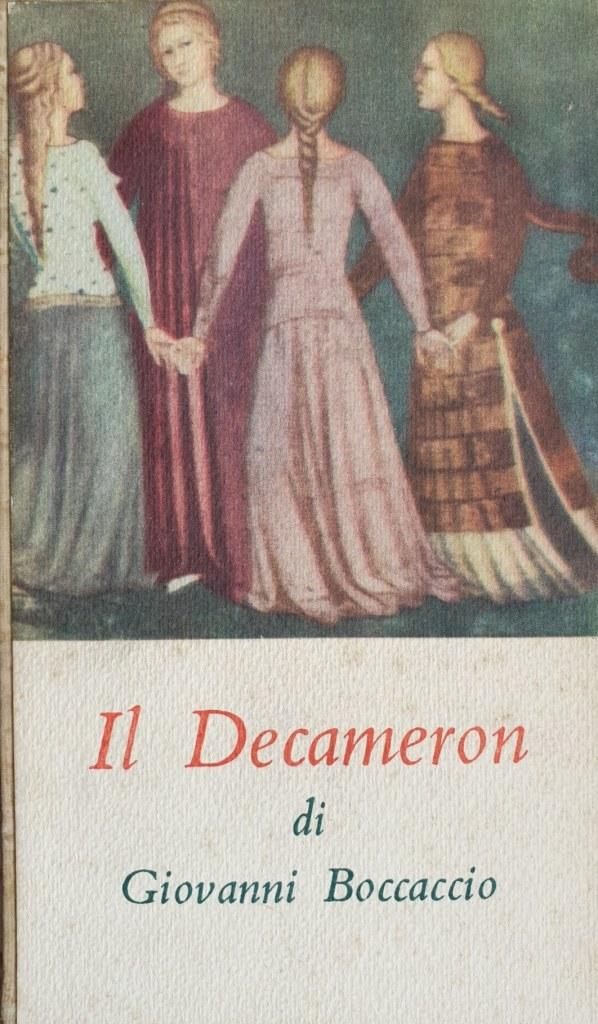 Fig. 1 G. Boccaccio, Il Decameron, testo critico a cura di G. Petronio, Torino, Einaudi, 1949