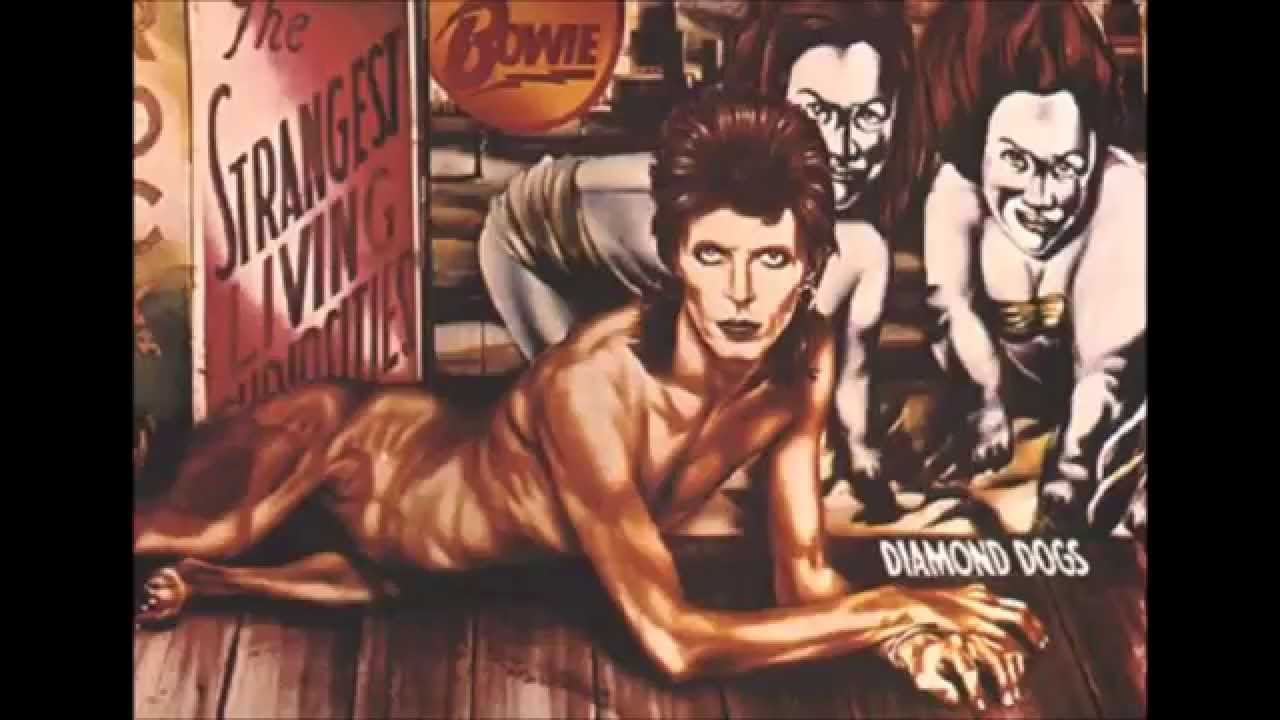 David Bowie, Diamond Dogs (1974), opera di Guy Peellaert
