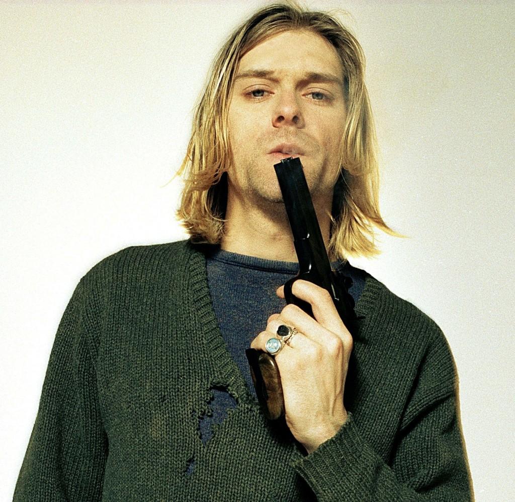 Kurt Cobain, foto di Youri Lenquette