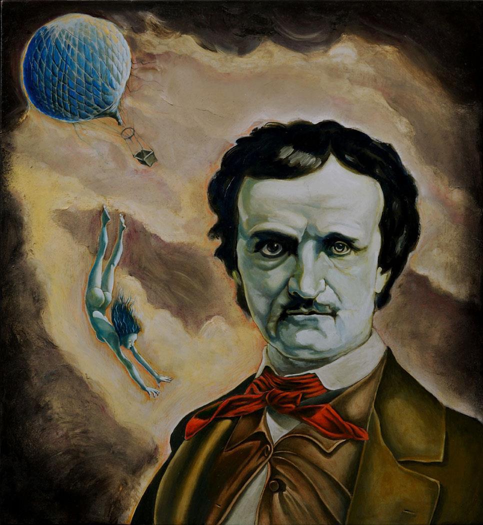 Tommaso Pincio, Ritratto di Edgar Allan Poe con le spalle rivolte al sublime, 2011