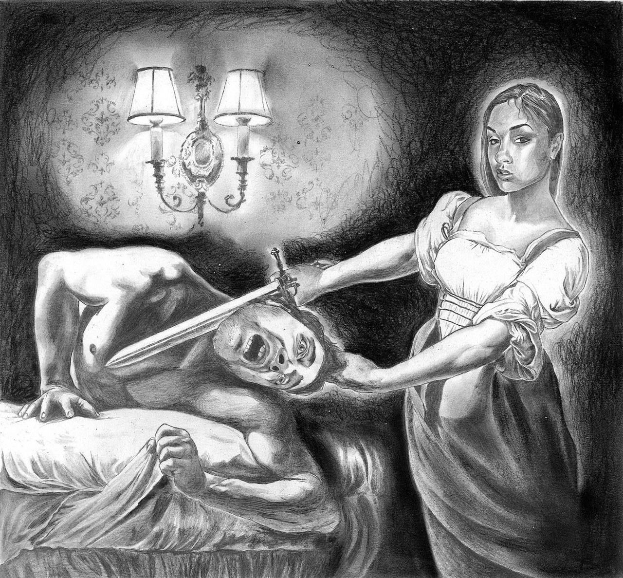Tommaso Pincio, da Giuditta e Oloferne di Caravaggio, 2011