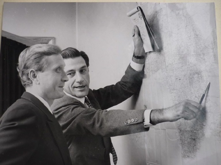 Gualtiero Jacopetti e Franco Prosperi