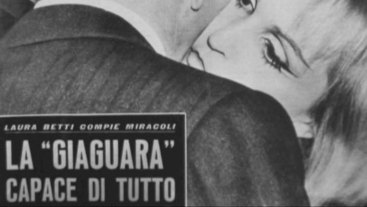 Laura Betti in un fotogramma de La passione di Laura di Paolo Petrucci, 2011