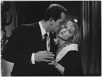 Laura Betti in un fotogramma de La dolce vita di FedericoFellini, 1960