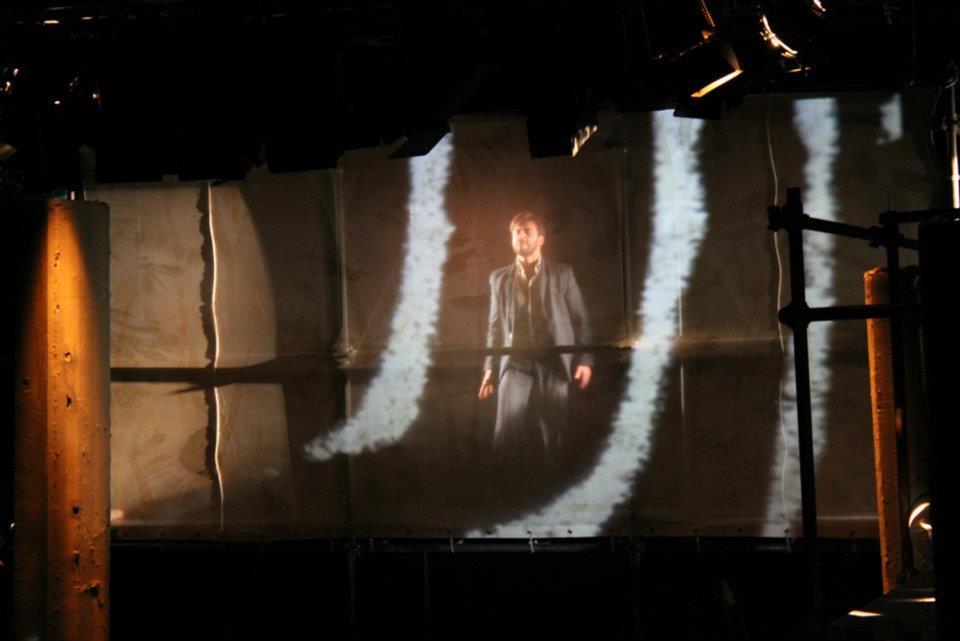 Una foto di scena dello spettacolo Gomorra, © Marco Ghidelli
