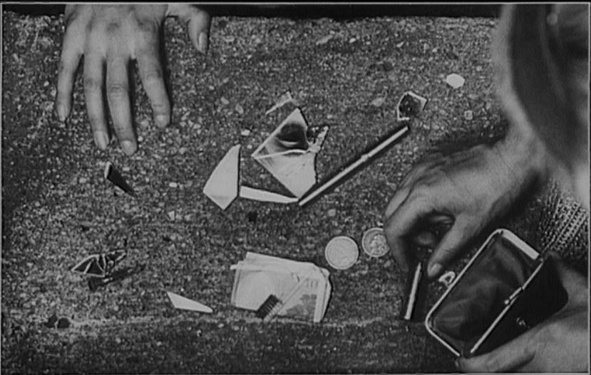 Un fotogramma di Une minute pour une image (1983): Liliane de Kermadec, Torunage de Cléo de 5 a 7, 1961 © Ciné-Tamaris