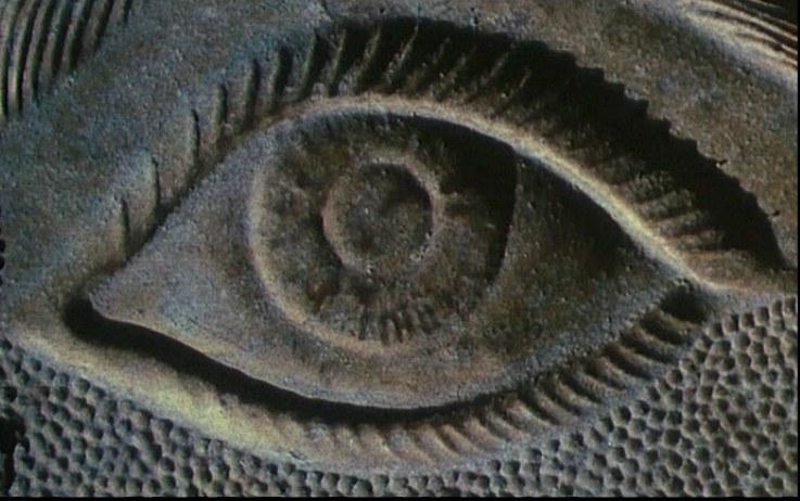 un fotogramma della sigla di apertura di Une minute pour une image (1983) © Ciné-Tamaris