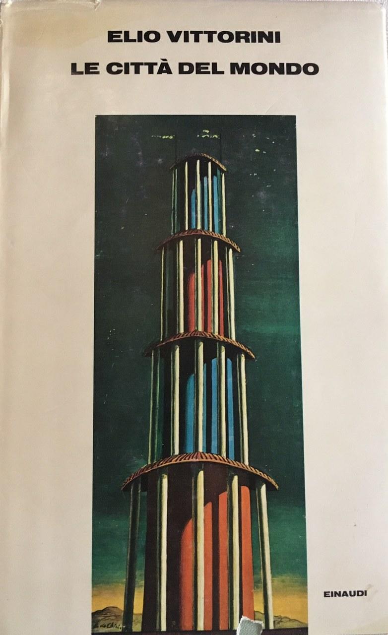Fig. 1 Copertina del romanzo Le città del mondo di Elio Vittorini (Torino, Einaudi, 1959)