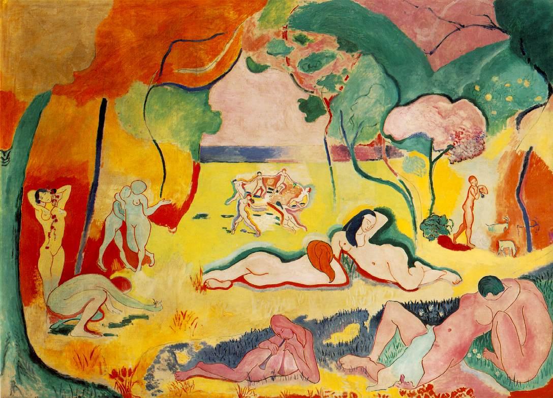 Henri Matisse, Joie de vivre, 1905-1906
