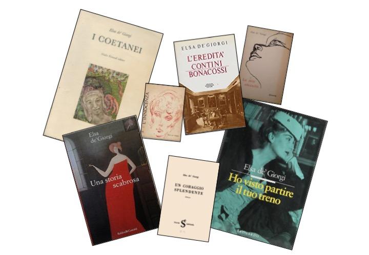 Alcuni libri di Elsa de' Giorgi