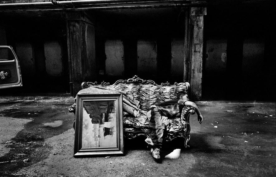 Una foto di scena di Gomorra, di Matteo Garrone (2008) © Mario Spada