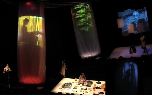 Estratti da Io ho fatto tutto questo, spettacolo dedicato a Goliarda Sapienza, ©Maria Arena