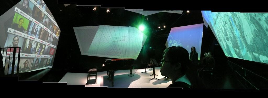 New Media Art Exhibition – Intermedia Experiment at HKAS, installation Box of Revelation, Flickr 2009 ©Andy Li