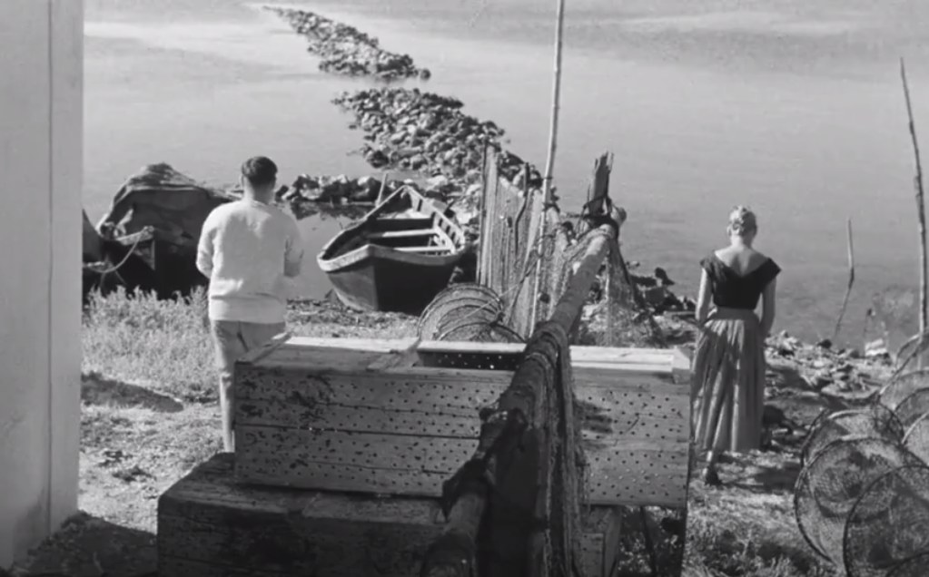 Screen tratto da La pointe Courte (1954)