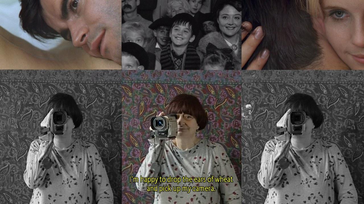 Montaggio di screen tratti da Le Bonheur (Happiness, 1965), L'Univers de Jacques Demy (The World of Jacques Demy, 1995) e Les Glaneurs et la Glaneuse (The Glaneurs and I, 2000)