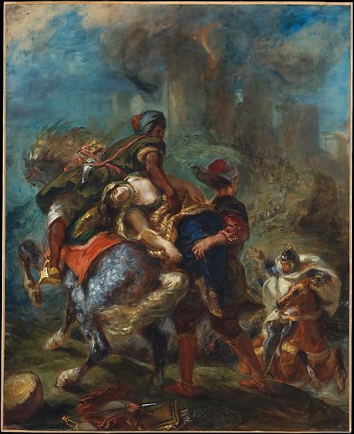 Delacroix, Enlevement de Rebecca
