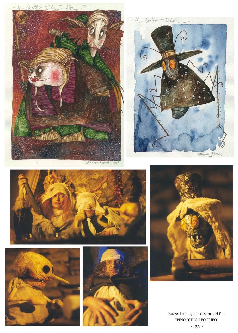 Fata Turchina. Illustrazione per Pinocchio 2014, Logos
