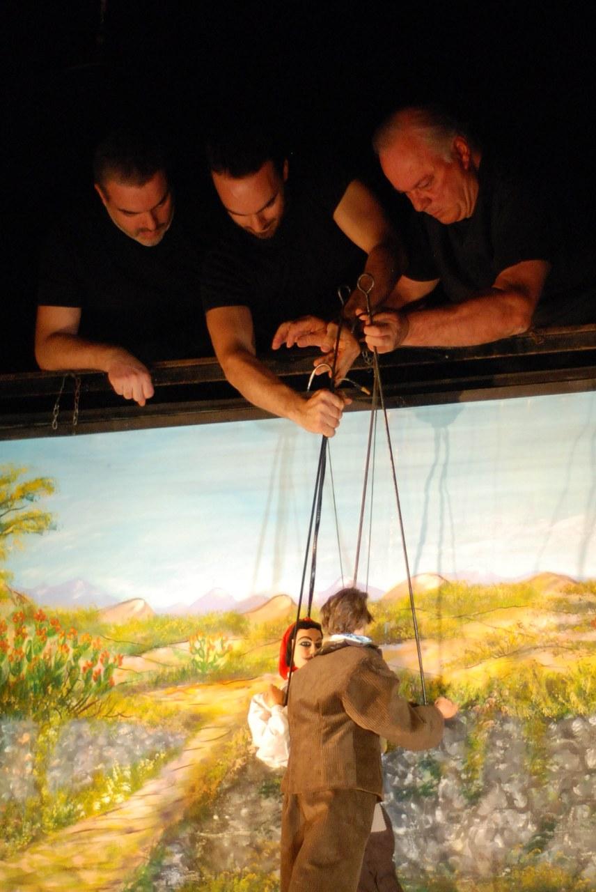 Fig. 4 Fratelli Napoli, Astratti furori siciliani, Teatro Coppola, 2013 ©Chiara Scattina