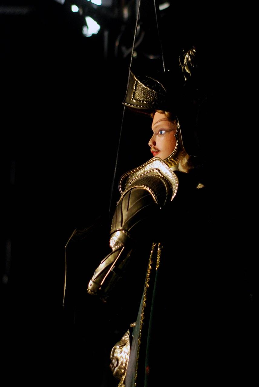 Fig. 5 Fratelli Napoli, Astratti furori siciliani, Rinaldo, Teatro Coppola, 2013 ©Chiara Scattina