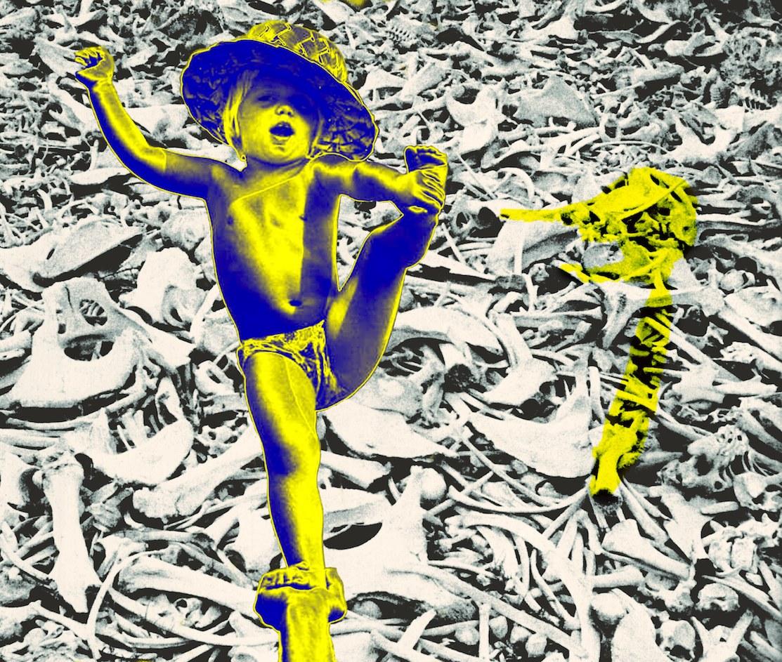 Fig. 8.Pinocchio diventa finalmente un ragazzo (Pinocchio Parade, 2014) dal concerto al Teatro Out Off di Milano, 25 febbraio 2017. Fotografia di Gianni Grossi